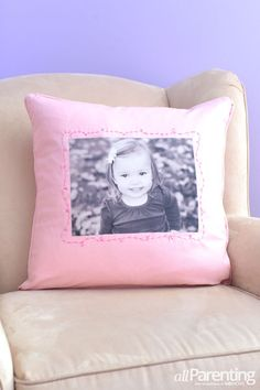 DIY photo pillow. What a cool gift!