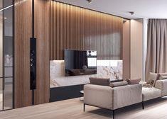 Paneles decorativos de madera - Ideas para decorar el salón