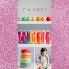 Play dough You will need: white flour – 1 cup warm water – 1 cup salt – 2 tbsp cream of tartar – 2 tbsp cooking oil – 2 tbsp Jello – 1 3oz pack Mix all of the ingredients together in a small saucepan. Even though it makes for a longer process and a lot more clean up, let the little ones do the measuring and mixing. They learn so much from helping in the kitchen, and it's really fun for them. Keep mixing until most of the lumps are gone. Cook over medium heat, stirring continuously until it t