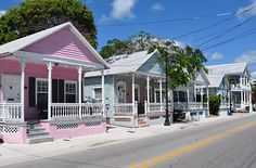 Little pink houses...  Key West