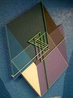 Octavio Herrera 'Ligne descriptive vert-blanc', 2006, MADI Art Museum and Gallery, Dallas