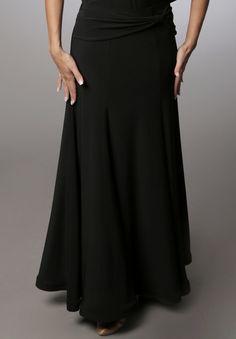 Dancemo Ballroom Dance Skirt| Dancesport Fashion @ DanceShopper.com
