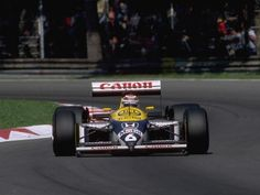 In 1987 Nelson Piquet (Williams FW11B) won at Monza from Ayrton Senna (Lotus 99T) in 1-2 for Honda #Turbo
