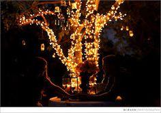 Bilderesultat for mason jar lights wedding