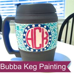 Bubba Keg Painting by Happiness and Heather