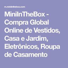 MiniInTheBox - Compra Global Online de Vestidos, Casa e Jardim, Eletrônicos, Roupa de Casamento