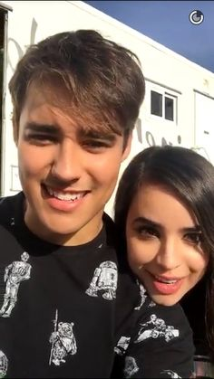 Jorge blanco and Sofia