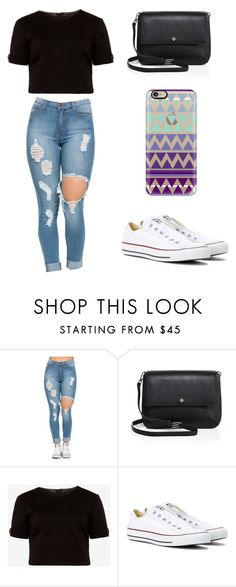 """Sin título #117"" by karenrodriguez-iv on Polyvore featuring moda, Tory Burch, Ted Baker, Converse y Casetify"