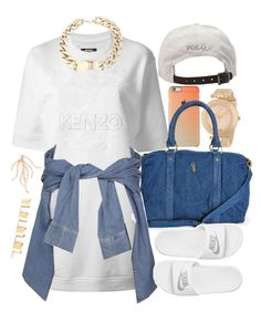 """""""Happy Mother's Day"""" by oh-aurora ❤ liked on Polyvore featuring Versace, Kenzo, Polo Ralph Lauren, NIKE, River Island, Shay and Maison Margiela"""