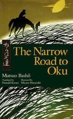 Beautiful book - travelogue, haiku, zen, translation, typeset, kiri-e, calligraphy, print, paper, binding,... also 'The Narrow Road to the Deep North' illus. Buson, trans. Nobuyuki Yuasa (Penguin classics), 'Busho's Ghost' by Sam Hamill.
