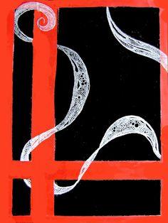 ARTES, DESARTES E DESASTRES CONTEMPORÂNEOS. Flutuações pela janela (Floating through the window) Técnica mista (acrílica e nanquim) sobre papel Canson (Mixed midia -acrylics and China ink- on Canson paper) 0,42 X 0,30