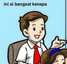 New memes indonesia tapi boong Ideas Memes Funny Faces, Cute Memes, Funny Jokes, Hilarious, All Meme, New Memes, Cartoon Jokes, Memes Lindos, Christian Humor