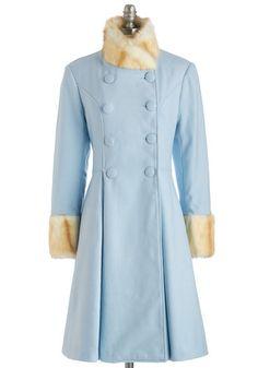 I Came, I Saw, I Pondered Coat | Mod Retro Vintage Coats | ModCloth.com