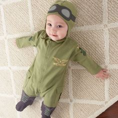 My Sweet Muffin - Baby Pilot Layette Set