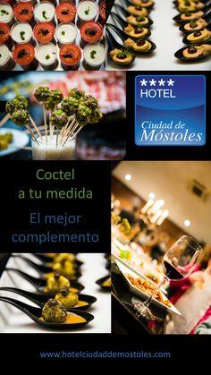 El coctel a la medida de tu evento. Hotel Ciudad de Móstoles