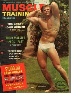 Muscle Training Illustrated November, 1966 - EphemeraForever.com