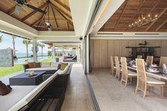 Each area of Villa Sila is stylish and classy! True luxury.