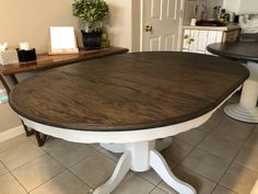 Dining Table, Decor, Furniture, Table, Home, Farm Style, Farm Style Dining Table, Refurbished Table, Home Decor