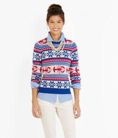 Lobster Crewneck Sweater