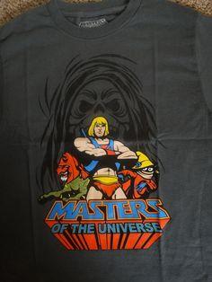 Eternia Gym Novelty Tee He-Man Womens Vneck T-Shirt,Royal,Small