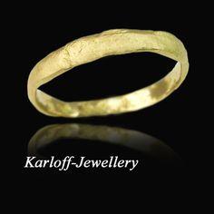 ZARĘCZYNOWY - Złoty pierścionek z diamentem VI Karloff - Jewellery . Pierścionki