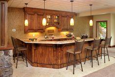 Modern And Stylish Amish Kitchen Cabinets Fantastic Design Bar Areas, Amish, Furniture Making, Countertops, Kitchen Cabinets, Modern, Table, Millersburg Ohio, House