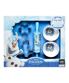 Another great find on #zulily! Frozen Olaf Five-Piece Cookie Set by Frozen #zulilyfinds
