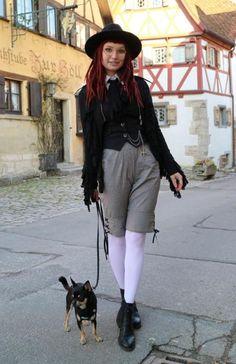 Outfit - klobouk H&M, kalhoty Innocent World, boty Vagabond - Módnípeklo. Vagabond Shoes, Rothenburg Ob Der Tauber, Vampire Hunter, Mori Girl, Style Me, Hipster, Style Inspiration, Boho, Pants
