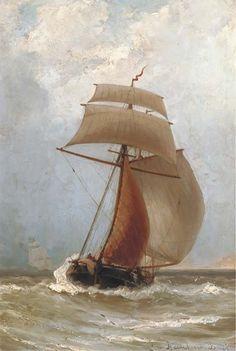 Jacob Eduard van Heemskerck van Beest (Dutch, 1828-1894)