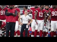 First female NFL coach speaks on being a trailblazer- http://getmybuzzup.com/wp-content/uploads/2015/09/509317-thumb.jpg- http://getmybuzzup.com/first-female-nfl-coach-speaks/- By CNN Jen Welter is the first woman ever to hold a coaching position in the NFL. CNN's Rachel Nichols sits down and talks with Welter about life in the NFL. …read more  Let us know what you think in the comment area below. Liked this post? Subscribe to my RSS feed and get loads ...- #Fema