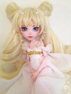 Princess Serenity BJD OOAK Monster High Doll by Carriations