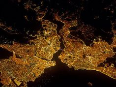Istanbul at Night : Image of the Day : NASA Earth Observatory Istanbul Guide, What The World, Image Of The Day, World Cities, Earth, Night, City, Dating Relationship, Storms