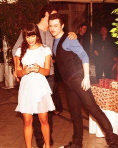 glee ❤️ Lea, Cory & Chris