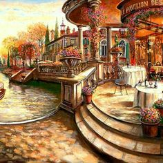 Pretty painting picture