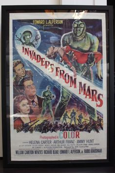 "Renew Gallery | ""Invaders From Mars"" Movie Poster"