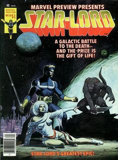 Marvel Preview #14 (1975 series) - cover by Jim Starlin