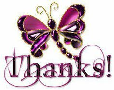 Thanks to all the Pinners I follow and repin.  You are so enjoyed and appreciated!!