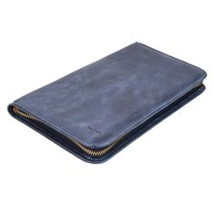 Travel Wallet in Indigo