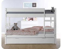 123 Bunk Bed - white
