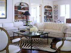 White Family Room
