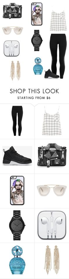 """Heyyyy "" by dajahknox ❤ liked on Polyvore featuring adidas, Topshop, NIKE, Moschino, Prada, Michael Kors, Marc Jacobs and Charlotte Russe"