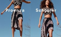 For its spring-summer 2017 campaign, Proenza Schouler unveiled a short video featuring models in free fall. Zoe Ghertner returns to capture models Natalie Westling and Selena Forrest diving onto safety nets in the new season's breezy designs. The film is set to the electric track, 'The Claw' by Cut Hands. Playful prints and modern shapes …