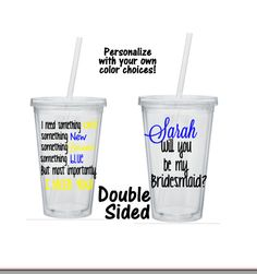 Will You Be My Bridesmaid Tumbler, Bridesmaid Tumblers, Will You Be My Bridesmaid Gift, Ask Bridesmaid Gift by SiplySophisticated on Etsy