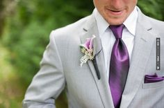 I very much like the light grey with the purple (just with vests not jackets)