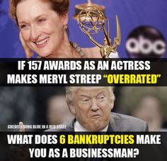 This Beautiful Woman is not only an Award Winning Talented Actress but she is a Humanitarian and a Philanthropist. (((Trump Cult Voters go look those words up, we know you haven't got a clue what they mean))) Trump doesn't know what those 2 words mean either because he is truly an Ugly, Amoral, Corrupt, Trashy POS!!!