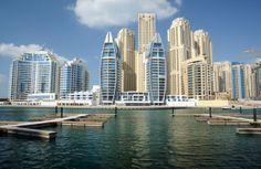 Dubai in de Verenigde Arabische Emiraten