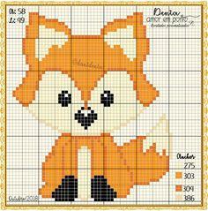 quilting like crazy Tiny Cross Stitch, Cross Stitch Cards, Cross Stitch Animals, Cross Stitch Designs, Cross Stitching, Cross Stitch Embroidery, Cross Stitch Patterns, Animal Knitting Patterns, Crochet Patterns