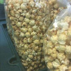 Kettle corn- Yum!