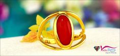 Precious stone may be damaged easily, if not handled carefully. You will be able to identify a flawed red coral stone by the holes or dents on its surface.