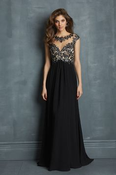 "Start out searching for your perfect long maxi black prom dress by flipping through magazines and online to see what kind of dress you are most attracted to. Then hit the stores with an idea in mind of what you are looking for. Try on as many dresses as you can; your idea of the ""perfect dress"" may not be as well suited for you as another style. Don't limit yourself."